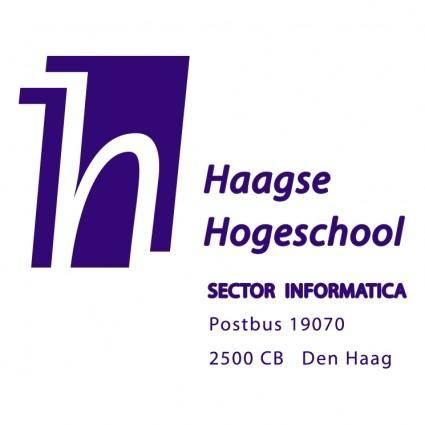 free vector Haagse hogeschool