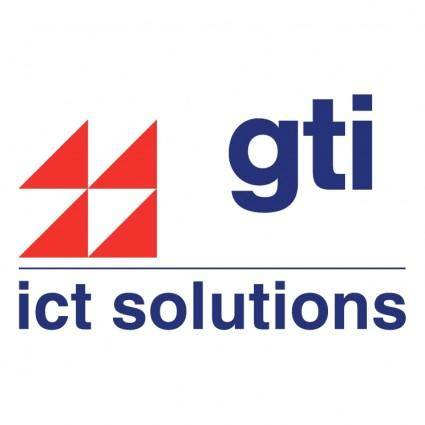 free vector Gti ict solutions