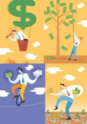 Illustrator vector financial implication
