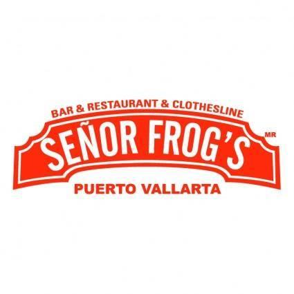 free vector Grupo andersons senor frogs puerto vallarta