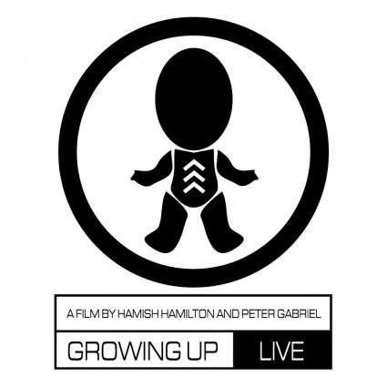 free vector Growing up live