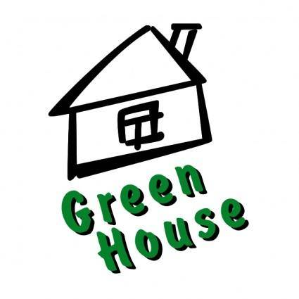 free vector Green house