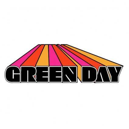 free vector Green day 0