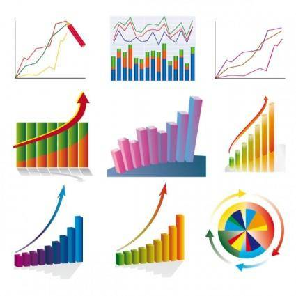 free vector Chart stock 03 vector
