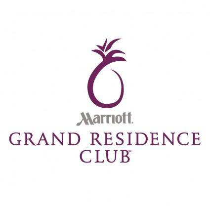 free vector Grand residence club