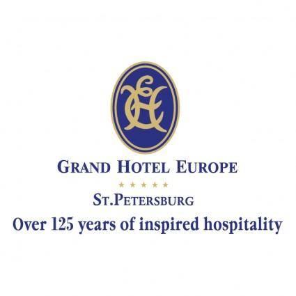 free vector Grand hotel europe st petersburg