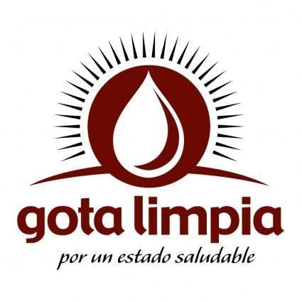 free vector Gota limpia