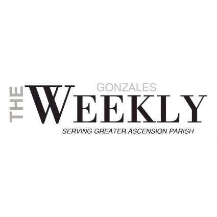 Gonzales weekly