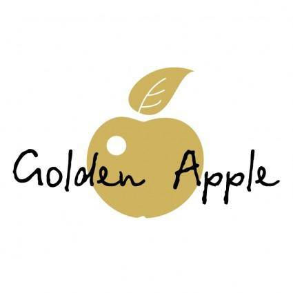 free vector Golden apple