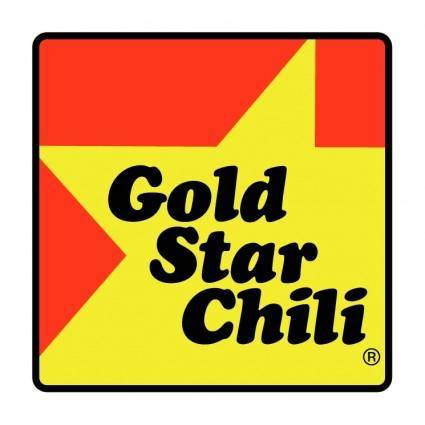 free vector Gold star chili
