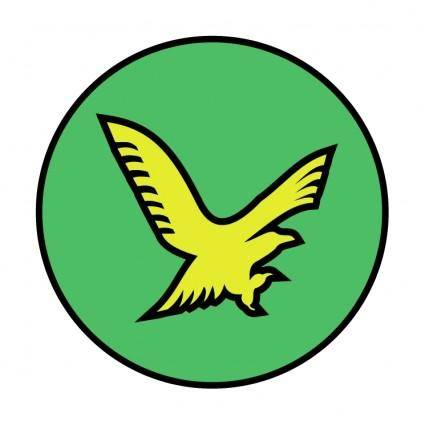 free vector Gold eagle