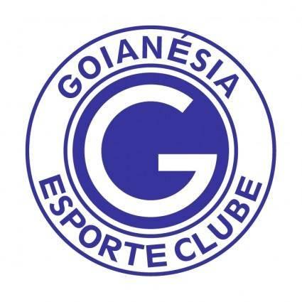 free vector Goianesia esporte clube goianesiago