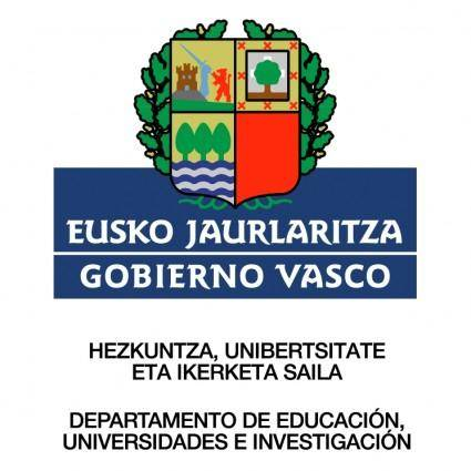 free vector Gobierno vasco 0