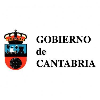 free vector Gobierno de cantabria