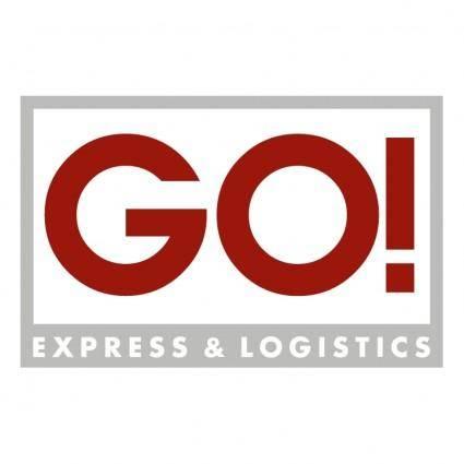 free vector Go express logistics