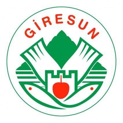 free vector Giresun belediyesi