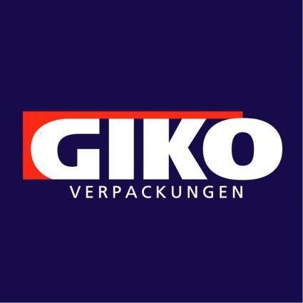 free vector Giko verpackungen