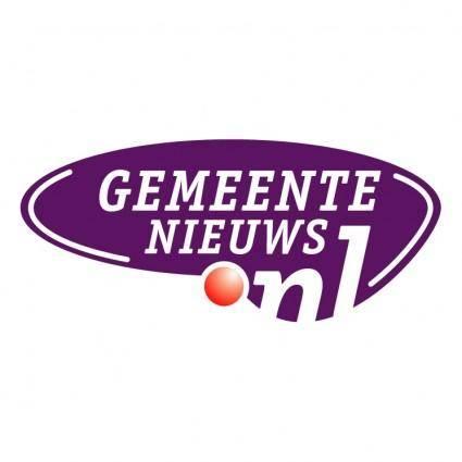free vector Gemeente nieuwsnl