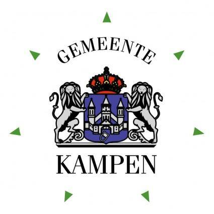 free vector Gemeente kampen