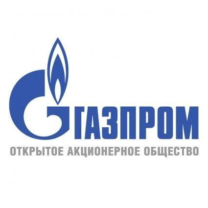 free vector Gazprom 5