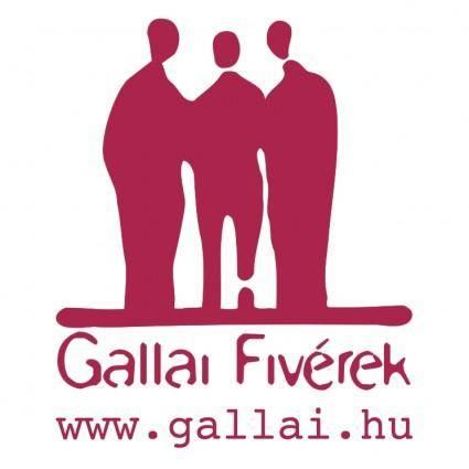 free vector Gallai fiverek