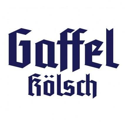 free vector Gaffel koelsch 2