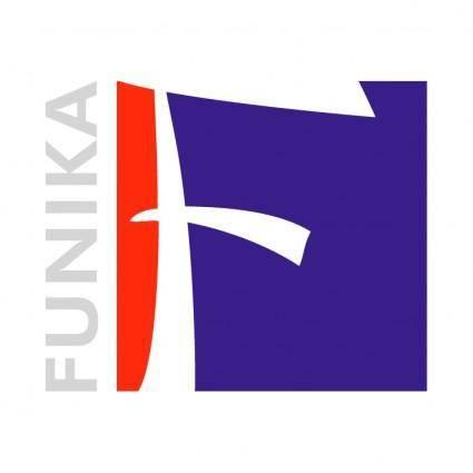 free vector Funika b brand