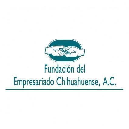 free vector Fundacion del empresariado chihuahuense