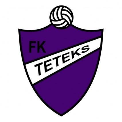 free vector Fudbalski klub teteks