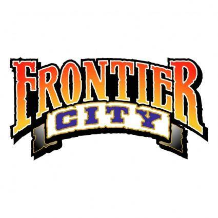 free vector Frontier city