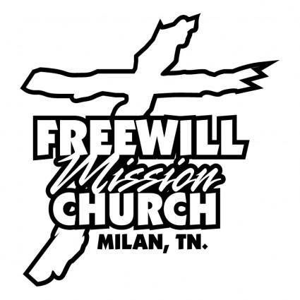 free vector Freewill mission church