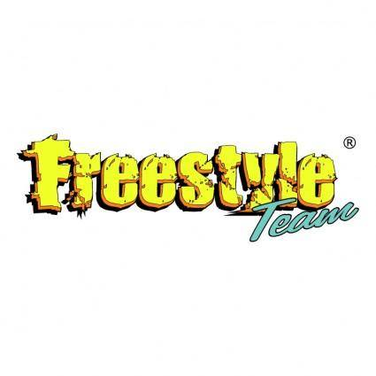 free vector Freestyle team