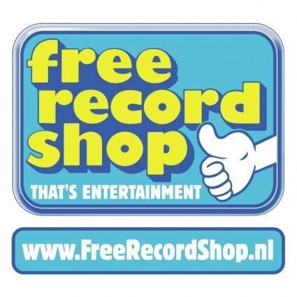 Free record shop 1