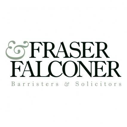 free vector Fraser falconer barristers and solicitors