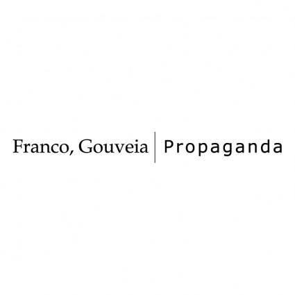 Franco gouveia propaganda