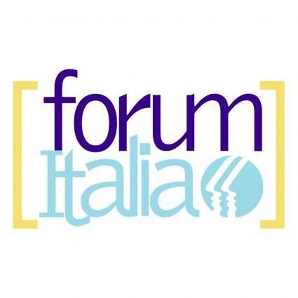 free vector Forum italia