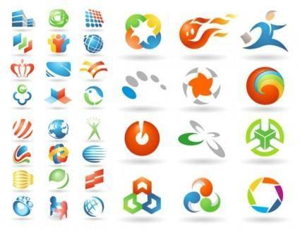 free vector Variety of vector graphics logo