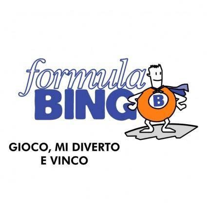 Formula bingo