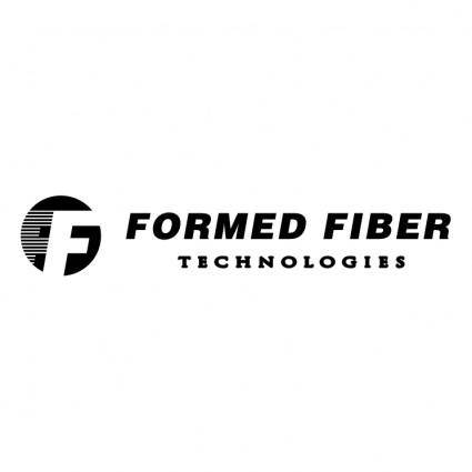Formed fiber technologies