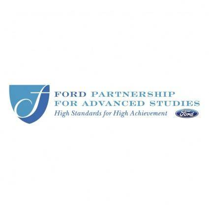 free vector Ford partnership for advanced studies