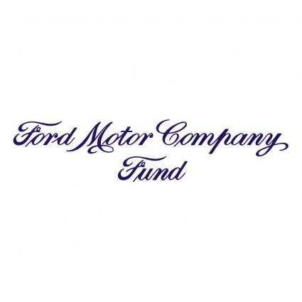 free vector Ford motor company fund