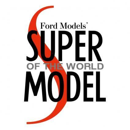 free vector Ford models super of the world