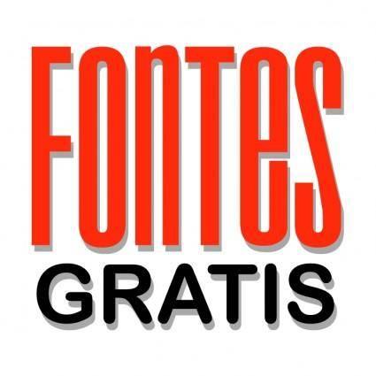 free vector Fontes gratis
