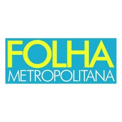 free vector Folha metropolitana