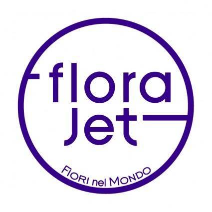 free vector Flora jet