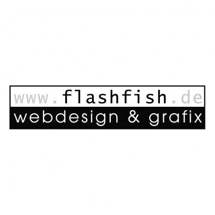 free vector Flashfish webdesign