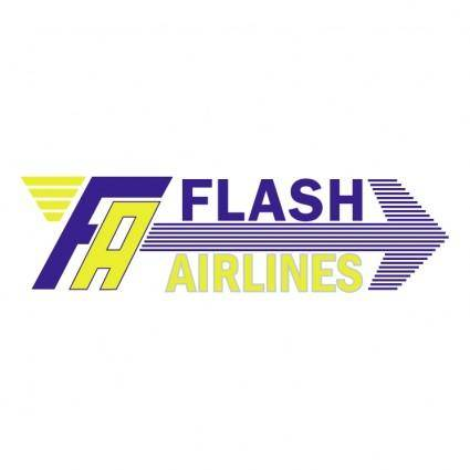 free vector Flash airlines