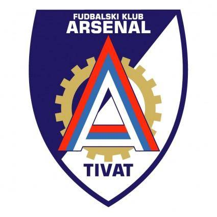 free vector Fk arsenal tivat