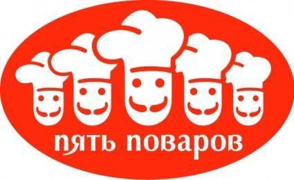 Five cooks