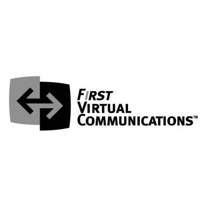 free vector First virtual communications